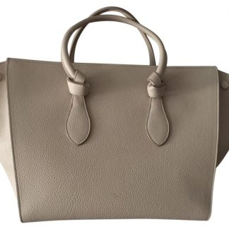 8c4b448d9 ... Outlet Céline Fake Tie Knot Taupe Gold Leather and Suede Tote high  quality designer replica handbags ...