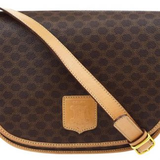 5548b696a41a Wholesale Handbags Céline Mirror Macadam Pattern Pvc Leather Brown Italy  Tote Shoulder Bag celine replica ...